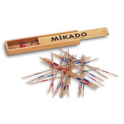 Jeu du Mikado géant Culture Club composé de 28 bâtonnets de longueur 30,5 cm en bois (photo)