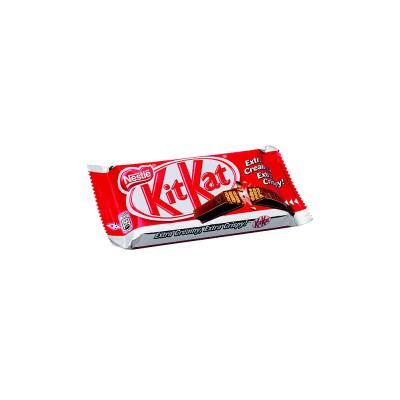 Paquet de 4 barres chocolat au lait - 41,5 g - boîte 36 paquets