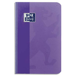 Carnet Oxford Super Conquérant - reliure brochure - 9x14 cm - 192 pages - petits carreaux - papier 90g