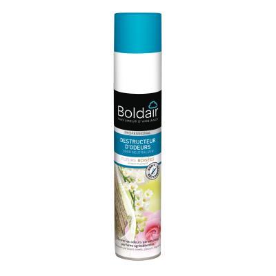 Destructeur d'odeur Boldair en aérosol - parfum air Léger - 500ml (photo)