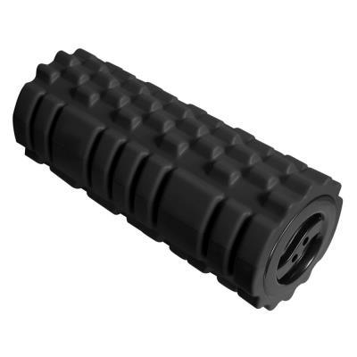 Repose-pieds ergonomique cylindrique Roller Feet Unilux - en mousse EVA - noir