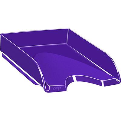 Corbeille à courrier CEP Gloss - 24 x 32 cm - violet