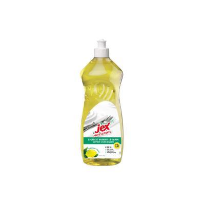 Liquide vaisselle Jex - doux pour les mains - parfum citron - flaconde 1L (photo)