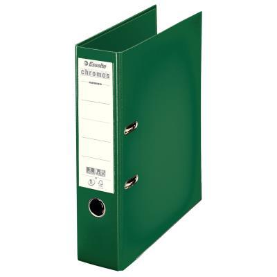 Classeur à levier Esselte Chromos Plus - polypropylène - dos 8 cm - A4 - vert