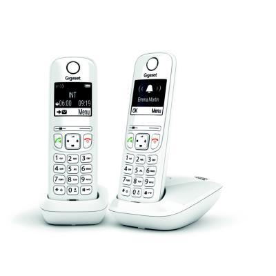 Téléphone sans fil AS690 Duo  Gigaset - blanc (photo)