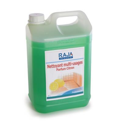 Nettoyant de surface multi-usage Raja - senteur citron frais - concentré bleu - 5 litres
