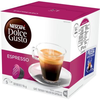 Dolce Gusto boîte de 16 capsules café espresso - paquet 16 unités