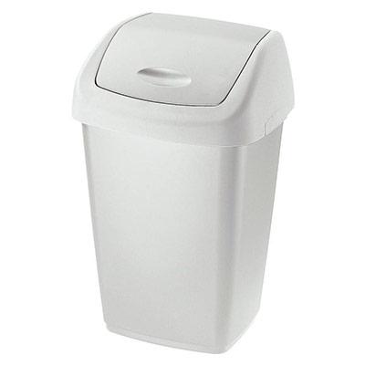 Collecteur à couvercle basculant Rubbermaid - 25 litres