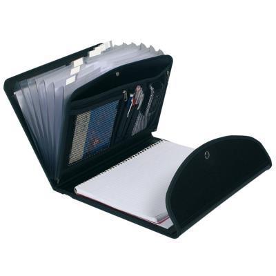 Porte documents multi usages Exacompta - 6 compartiments avec bloc écriture (photo)