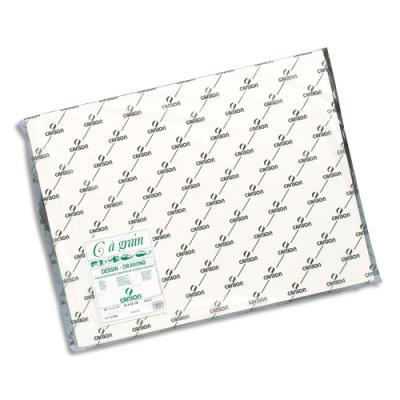 Feuilles C à grain Canson - 180 g - format 50 x 65 cm - coloris Blanc - Ref-21183 (photo)