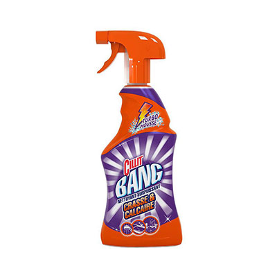 Spray nettoyant surpuissant Cilit Bang spécial désinfection - flacon pistolet 750ml (photo)