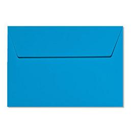 Enveloppe Pollen de Clairefontaine - 114 x 162 mm - bleu turquoise - 5556 - paquet de 20 (photo)