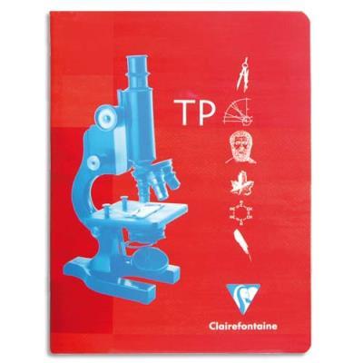 Cahiers de travaux pratiques Clairefontaine Metric - 24 x 32 cm - 32 pages grands carreaux + 32 pages unies