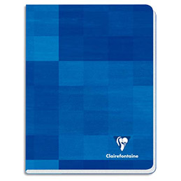 Cahier Clairefontaine - 17 x 22cm - Grands carreaux (Seyes) - 48 pages