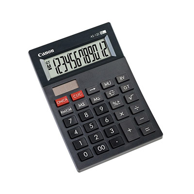 Canon calculatrice as-120 4582b001 (photo)