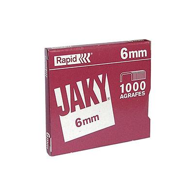 Agrafes - Jaky6 - cuivrées - 6 mm - paquet 1000 unités