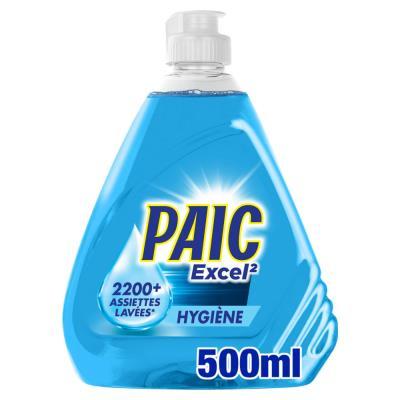 Liquide vaisselle mains XL+ Paic - Express clean - destructeur de bactéries - flacon de 500 ml