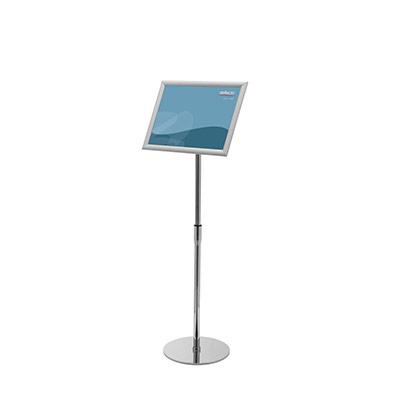 Présentoirs sur pied avec cadre clipsable A3