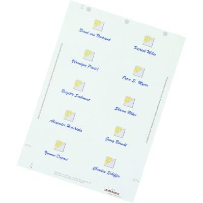 Insert pour badge Durable Badgemaker - format 5,4 x 9 cm - boite de 200 (photo)
