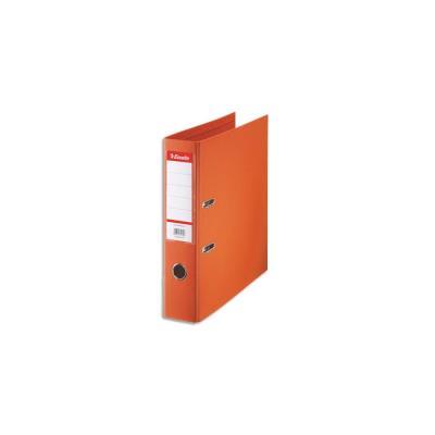 Classeur à levier Esselte - dos de 7,5 cm - plastifié intérieuret extérieur - orange