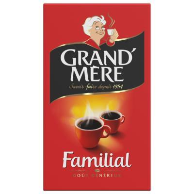 Café moulu Grand-Mère familial Robusta - paquet de 250 g