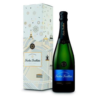Champagne Brut Réserve Nicolas Feuillate - bouteille de 75 cl (photo)