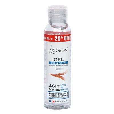 Gel hydroalcoolique Leanor - 120 ml (photo)