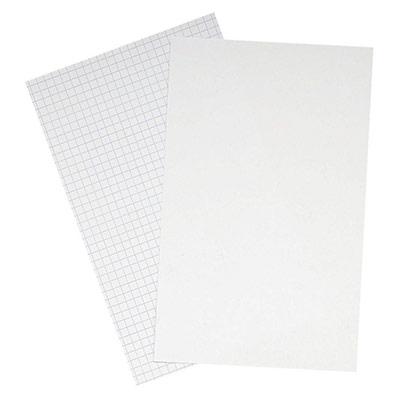 Fiches bristol Oxford - 75 x 125 mm - blanc uni - paquet 100 feuilles