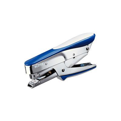 Pince agrafeuse Leitz 5545 - utilise les agrafes n°10 - bleue 15 feuilles