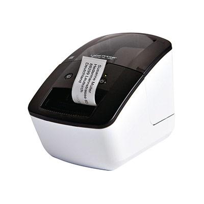 Brother QL-700 - Imprimante d'étiquettes - papier thermique - rouleau (6,2 cm) - 300 x 600 ppp - jusqu'à 150 mm/sec - USB (photo)