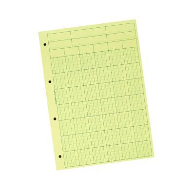 Bloc Audit de Contrôle comptable Exacompta - 6 colonnes - 70 feuillets - 21 x 29,7 cm - A4 (photo)