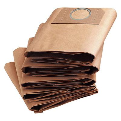 Sacs filtre papier pour aspirateur WD3 - 17 litres - paquet 5 unités