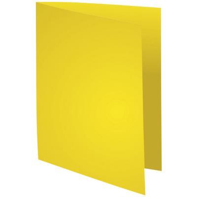 Chemise Exacompta Rock's - jaune citron - format 24 x 32 cm - 210 g - paquet de 100