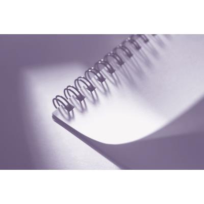 Baguette de reliure à spirale A4 - 12 mm - noir - boîte 100 unités (photo)