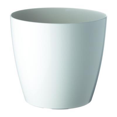 Pot de fleurs San Remo - diamètre 30 cm - blanc