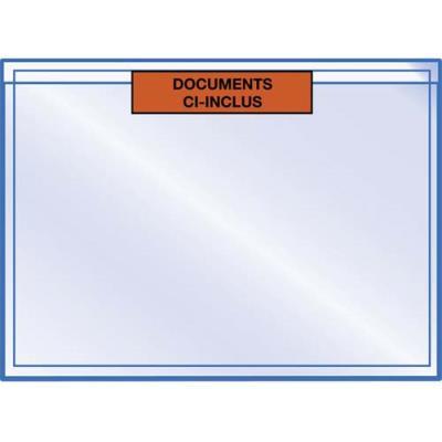 Pochettes pour documents ci-inclus format 16 x 22 cm - lot de 1000
