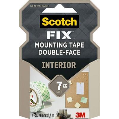 Rouleau de mousse adhésive double-face Scotch Fix Mousse - 19 mm x 1,5 m