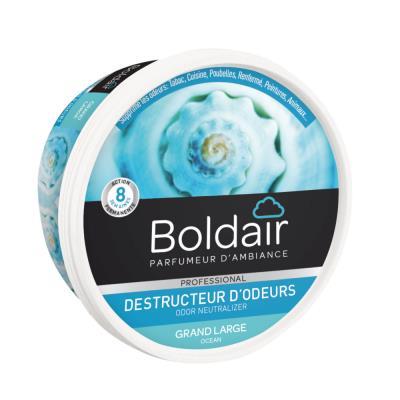 Gel désodorisant destructeur d'odeur Boldair - parfum neutre - 300g
