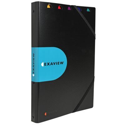 Protège-documents Exacompta Exaview Exactive 30 pochettes A4 24 x 32 cm polypropylène noir