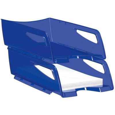 Corbeille à courrier maxi Cep Happy - 25x10,1x34 cm - bleu