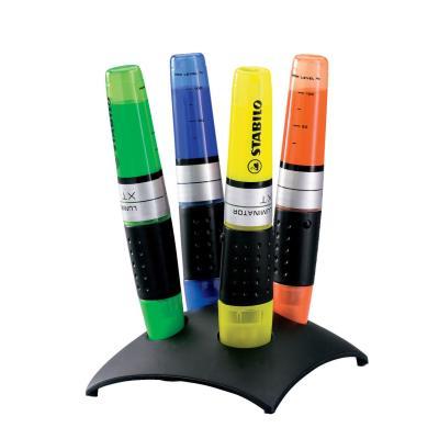 Stabilo Luminator - set de 4 surligneurs coloris assortis