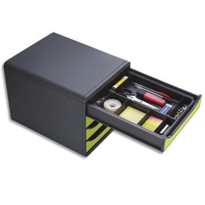 organisateur pour tiroir exacompta drawinsert compartiments amovibles noir achat pas cher. Black Bedroom Furniture Sets. Home Design Ideas