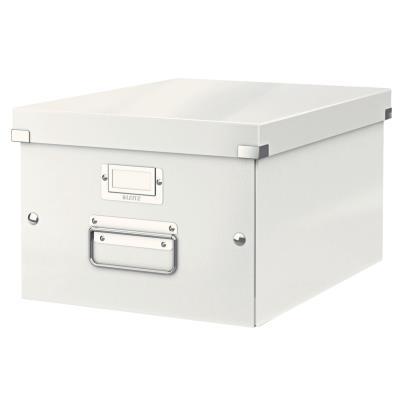 Boîte Leitz Click & Store Taille M - format A4 - capacité 17L - blanc