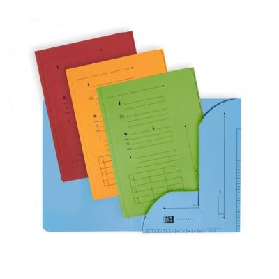 Chemise 2 rabats HV Ultimate pour dossiers suspendus - coloris assortis toniques - 23.5 x 31,5 cm - paquet de 25