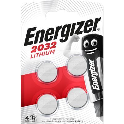 Pile bouton Energizer Lithium CR 2032 - lot de 4