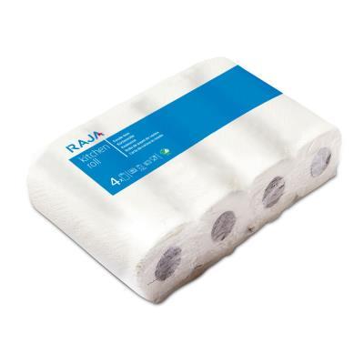 Papier d'essuyage - double épaisseur - gaufré - 50 feuilles - 229 mm - blanc