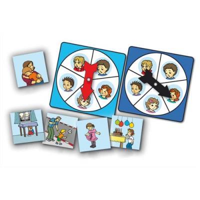 Atelier d'activité basé sur la connaissance des 5 émotions, pour 1 à 4 joueurs de 3 à 7 ans (photo)