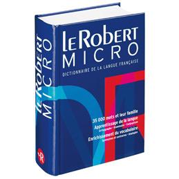 Dictionnaire Le Robert Micro (photo)