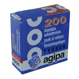 Boîte distributrice de 200 oeillets Tyvel Agipa (photo)