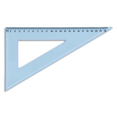 Equerre 60° 22 cm en plastique incassable (photo)